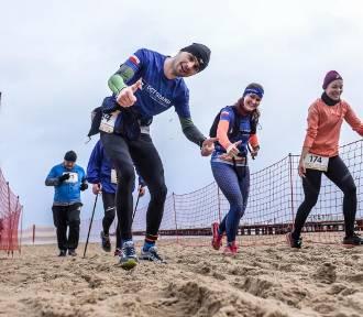 Biegali i maszerowali po plaży w Sopocie [wyniki, zdjęcia]