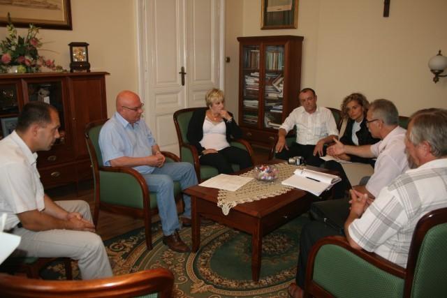 Prezydent Ryszard Nowak spotkał się z mieszkańcami bloków przy ul