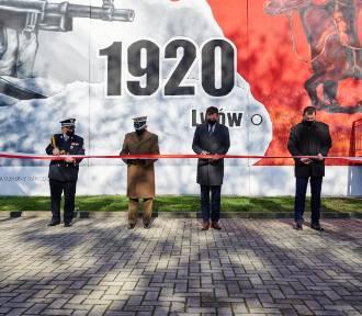 """Fotorelacja z odsłonięcia muralu """"Bitwy Warszawskiej 1920"""""""