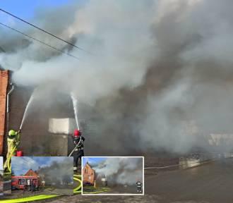 Stogi. Pomoc po pożarze dla 7-osobowej rodziny. Zbiórka na Zrzutka.pl i prośba o wpłaty na konto