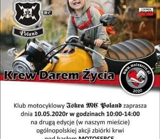 Klub Iskra z Sycowa w ramach akcji Motoserce organizuje zbiórkę krwi w MOSiRze