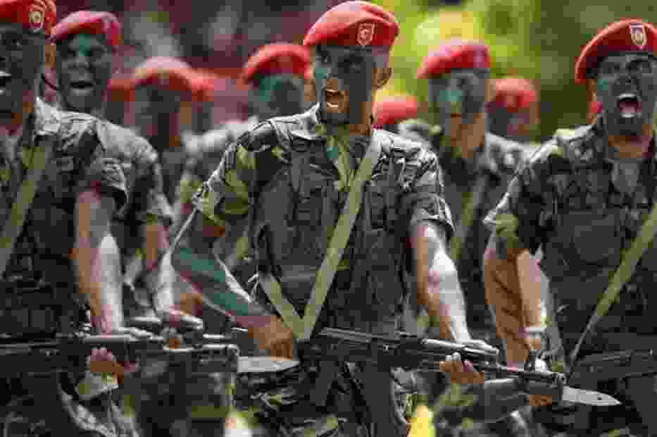 Wenezuelscy żołnierze