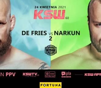 Wielki rewanż dwóch mistrzów walką wieczoru gali KSW 60!
