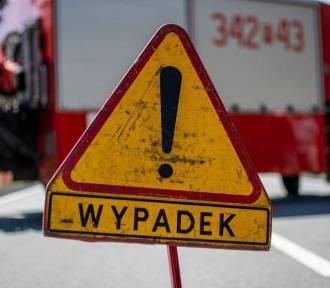 W Jaśle audi zderzyło się z oplem, pięć osób w szpitalu