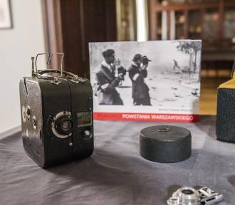 Muzeum Powstania Warszawskiego ma nowe eksponaty. Takimi kamerami filmowano Powstanie
