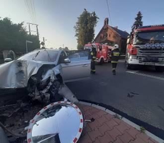 Wypadek w Raszkowie. 4 osoby trafiły do szpitala w tym dziecko