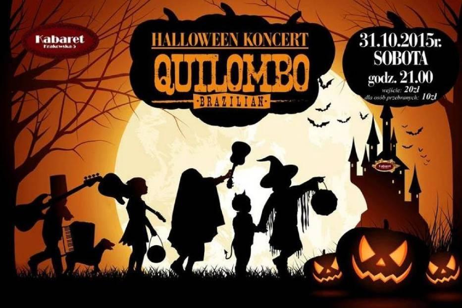 Halloween z zespołem Quilombo w Kabarecie