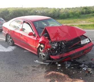 Swarożyn: wypadek na drodze krajowej nr 22. Zablokowany jeden pas jezdni [ZDJĘCIA]