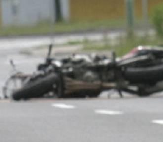 Wypadek motocyklisty w Bytomiu. 24-latek w szpitalu