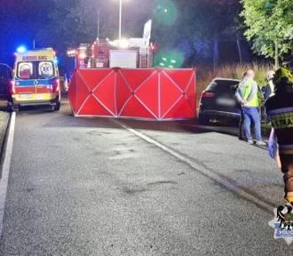 Tragedia w Głuszycy Górnej. Na miejscu zginęło dwoje 20-latków, 10 osób w szpitalu