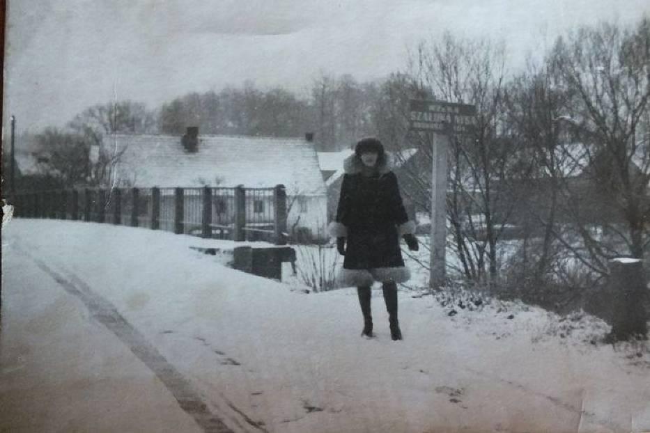 Krystyna Potapowicz na moście