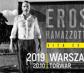 Długo oczekiwany koncert włoskiej gwiazdy. Warszawa częścią światowej trasy koncertowej Erosa