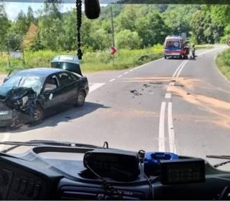 Tragedia koło Zakliczyna. W wypadku zginął motocyklista