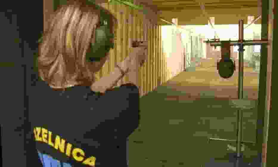 Wizyta na strzelnicy