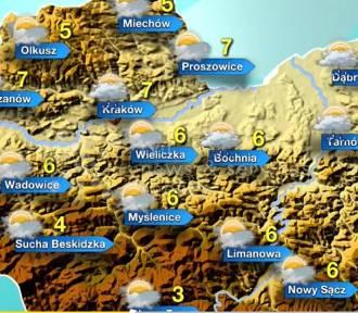 Pogoda na niedzielę, 8 grudnia. Niby na plusie... ale