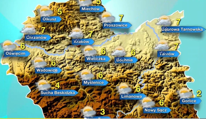 Sprawdź pogodę na 8 grudnia