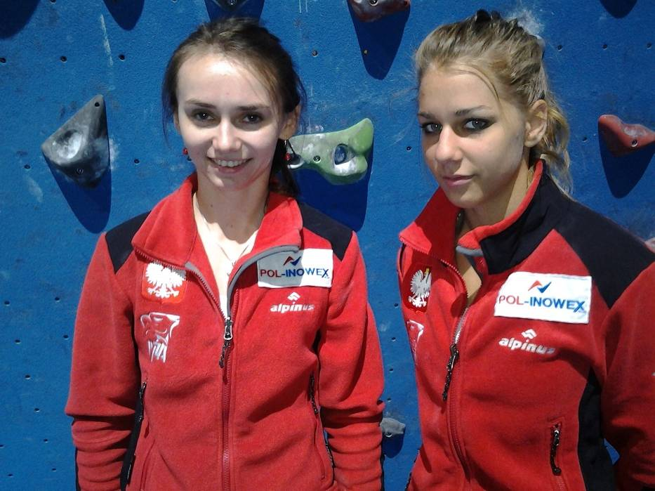 Monika Prokopiuk (z lewej) i Aleksandra Rudzińska wystartują w kolejnych zawodach Pucharu Świata seniorów edycji 2012