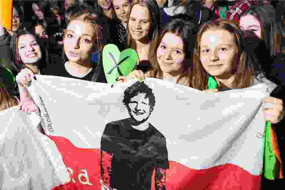 Sklep Eda Sheerana w Warszawie. Otwarcie w marcu o północy!