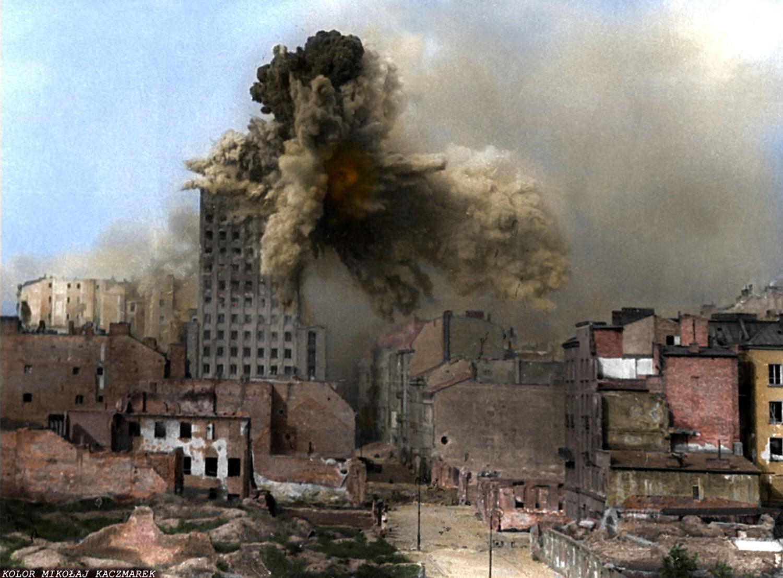 Warszawa 1944 pod mocnym ostrzałem