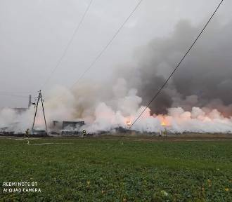 Raciniewo. Wójt gminy Unisław: To największy pożar w historii kujawsko-pomorskiego