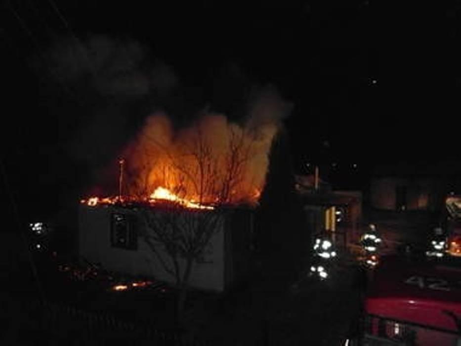 Ogień wybuchł około 2 w nocy
