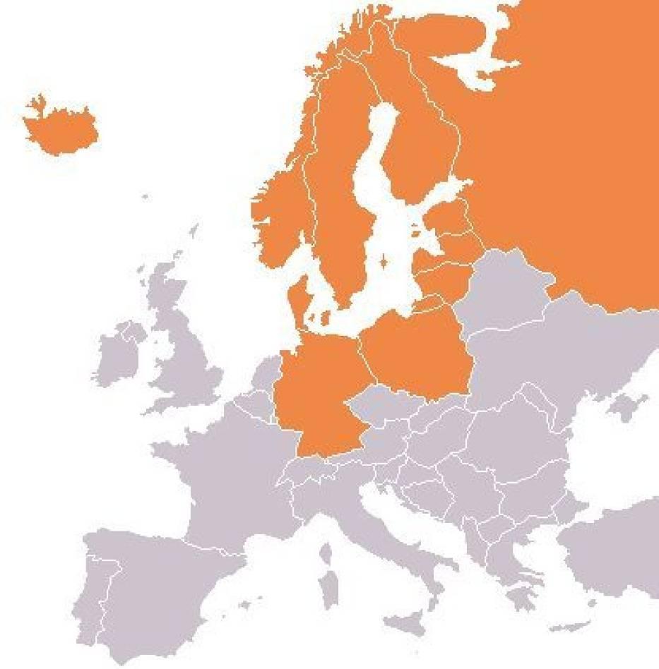 Członkowie Rady Państw Morza Bałtyckiego