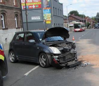 Straciła przytomność za kierownicą, doszło do zderzenia czołowego