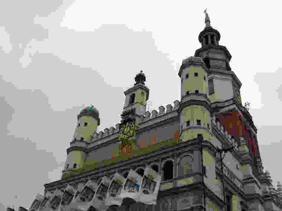 Poznański zegar na Ratuszu
