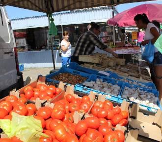Spadają ceny krotoszyńskich nowalijek i młodych warzyw [ZDJĘCIA]