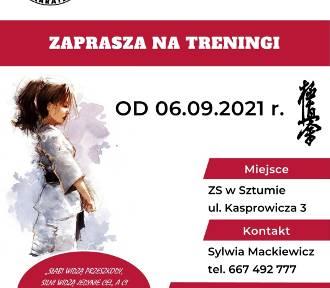 Sztumska sekcja Malborskiego Klubu Kyokushin Karate wznawia zajęcia!