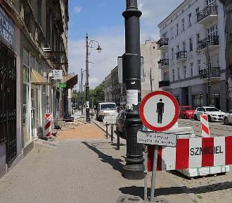 Remont ulicy Nowomiejskiej w Łodzi. Będą nowe chodniki i przystanki