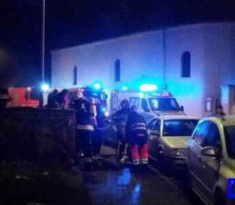 45-letni mężczyzna zginął w pożarze mieszkania [ZDJĘCIA]