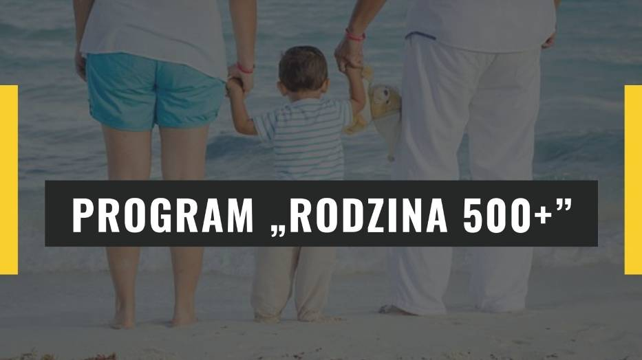"""Program Rodzina 500+Projekt budżetu na 2020 rok zakłada dalsze finansowanie rozszerzonego programu """"Rodzina 500+"""", w myśl, którego pieniądze otrzymują również rodzice jednego dziecka - do 18"""