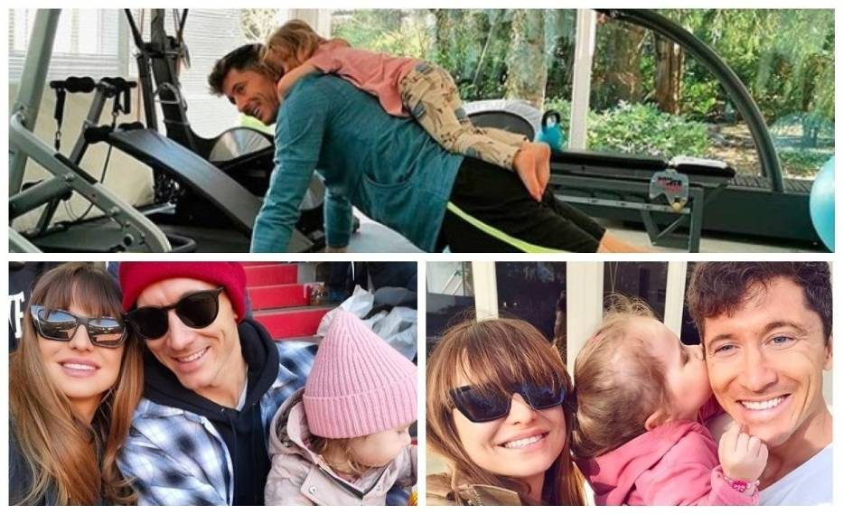 Anna i Robert Lewandowscy, wraz z córeczkami Klarą i Laurą, są dziś jedną z najbardziej rozpoznawalnych polskich rodzin