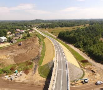 Budowa A1: kolejny wykonawca autostrady A1 ZDJĘCIA Z DRONA