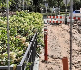 Z alei Jana Pawła II pozbywają się zabytkowych hydrantów