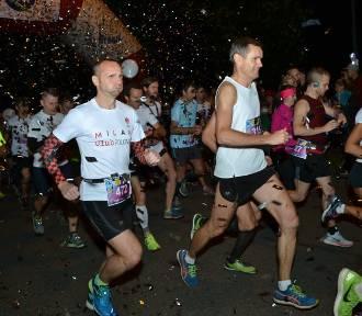 Rybnicki Półmaraton Księżycowy - 1200 biegaczy na starcie w blasku księżyca! ZDJĘCIA ZAWODNIKÓW