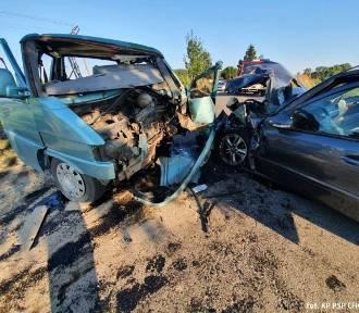 Wypadek w gminie Czersk. 9 rannych, 3 śmigłowce w akcji!