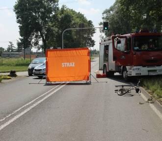 Wypadek w Jawornicy. Zginął rowerzysta