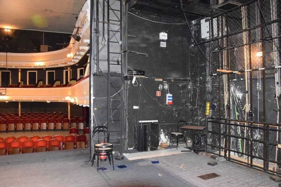 Taki kielecki teatr odchodzi na zawsze! Po raz ostatni zobaczcie miejsca niedostępne dla widzów [ZDJĘCIA]