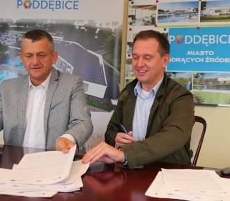 Budowa basenów termalnych w Poddębicach - rusza kolejny etap inwestycji (ZDJĘCIA)