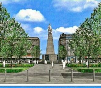 Spór o drzewa i przebudowę placu Wolności