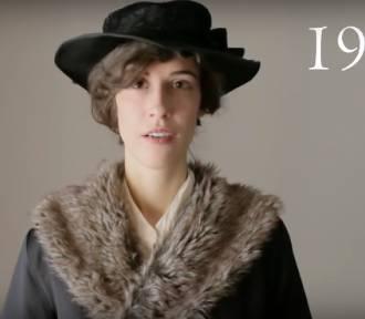 100 lat polskiej mody i historii w trzy minuty? Tej krakowskiej blogerce się to udało!
