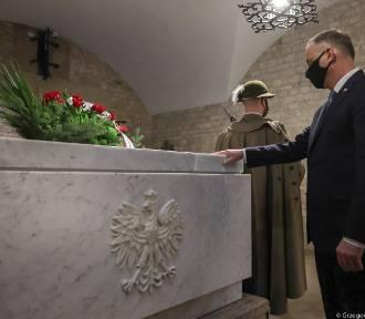 Prezydent Duda w Krakowie na obchodach 11. rocznicy katastrofy smoleńskiej