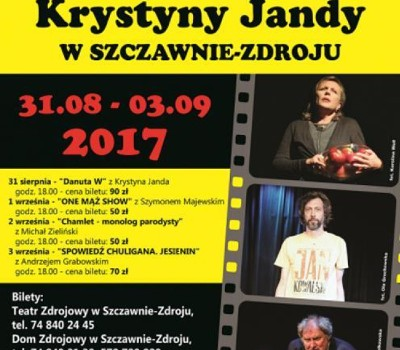 Iv Festiwal Krystyny Jandy Szczawno Zdrój 2017 Dzień 4
