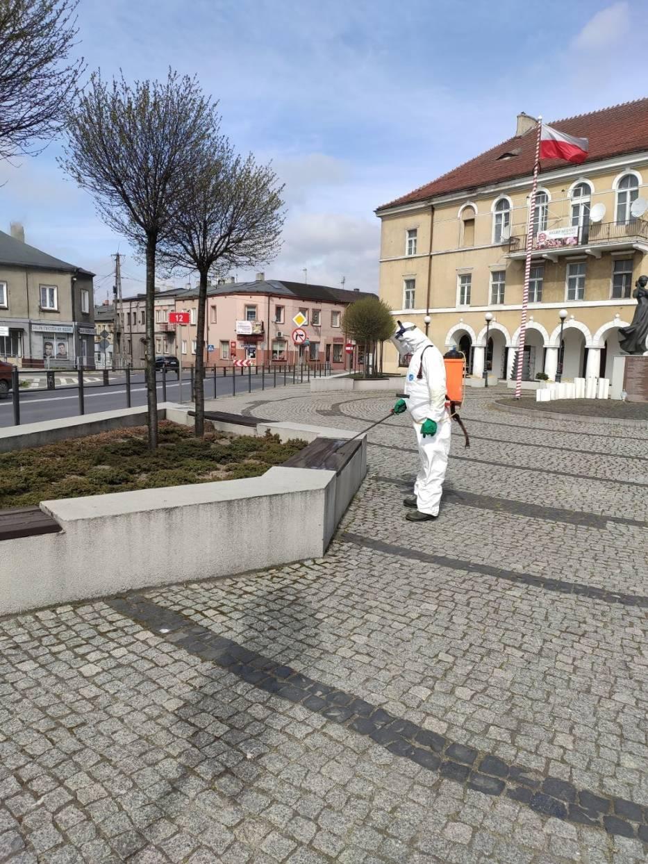 Dezynfekcja w Błaszkach