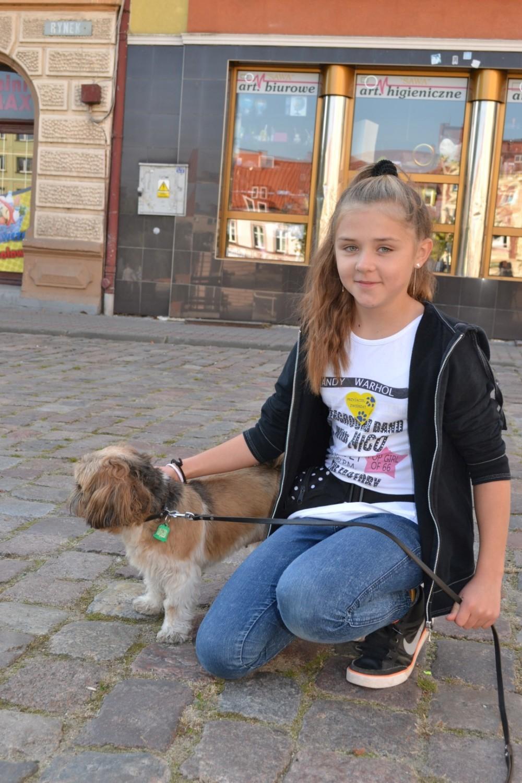 Zerwijmy łańcuchy - akcja przyjaciół zwierząt w Człuchowie, 4.10.2015r