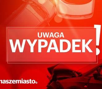 Wypadek na drodze krajowej nr 91 w Rakowcu, koło Gniewa - 2 osoby ranne: Aktualizacja