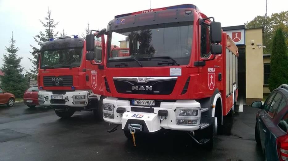 Pieniądze dla strażaków ochotników z naszego powiatu
