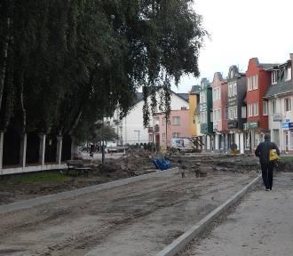 Remont ulicy Pogodnej w Ustce. Zobacz, jak powstaje nowa jezdnia